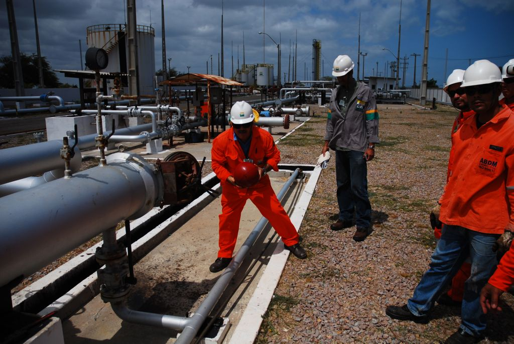 بازرسی خطوط نفت و گاز